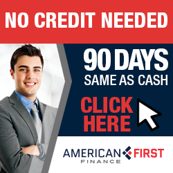 90 Days, Same as Cash Financing