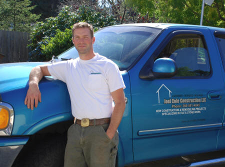 Joel Cole, owner, Joel Cole Construction LLC